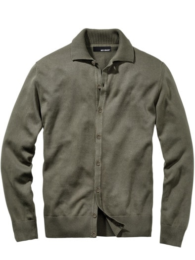 Hemden-Cardigan