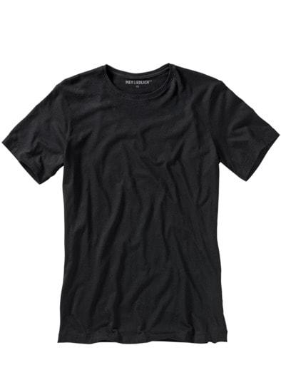 Slim Benchmark-Shirt Rundhals