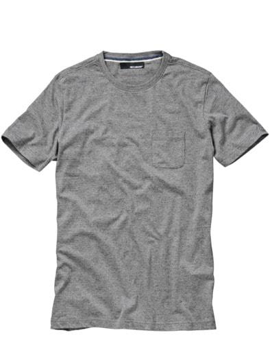 Das T-Shirt mit Tasche