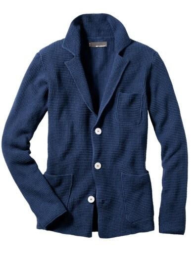 Pique-Shirt-Sakko