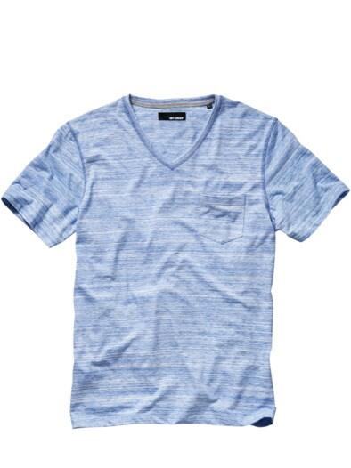 Das V-Shirt mt Tasche