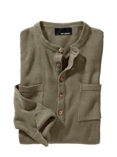 Henley-Sweater