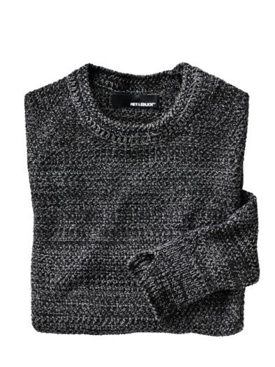 Piqué-Sweater