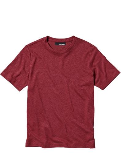 Leinen Rundhalsshirt