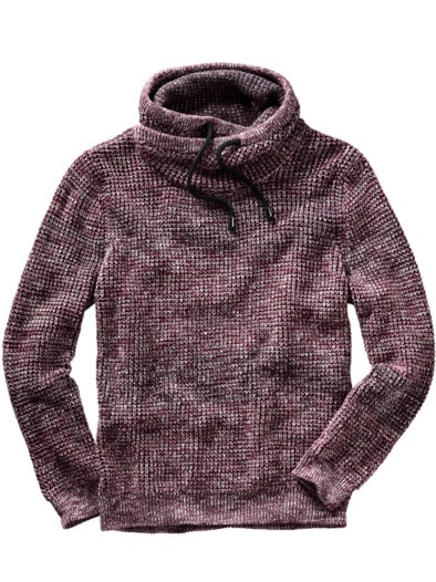Cowl-Neck-Pullover