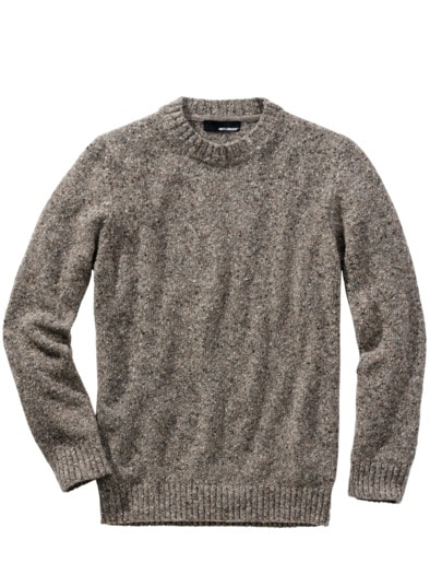 Tweed-Pullover