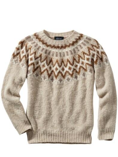 Sofortbild-Pullover Oatmeal