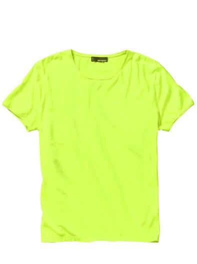 Leuchtstoff-T-Shirt