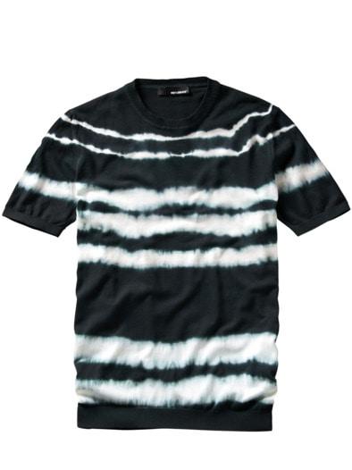 Bandhani Strick-Shirt