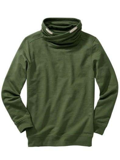 Kopf-und-Kragen-Sweatshirt