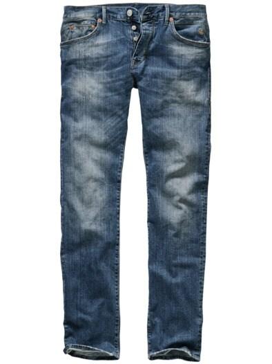 Zerkratzte Jeans