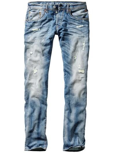Flicken-Jeans