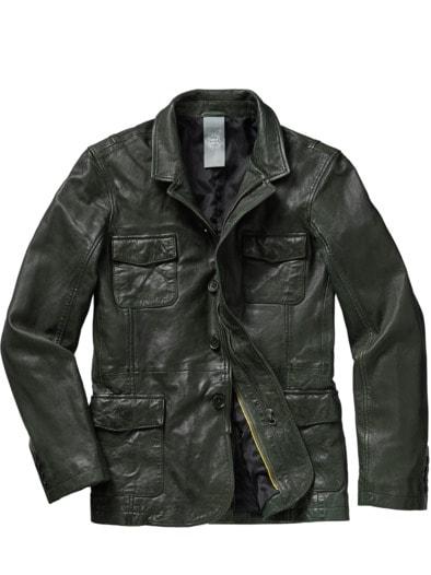 Leather Fieldjacket