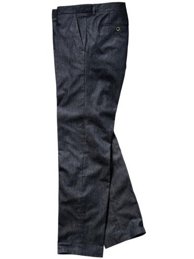 Denim-Anzughose
