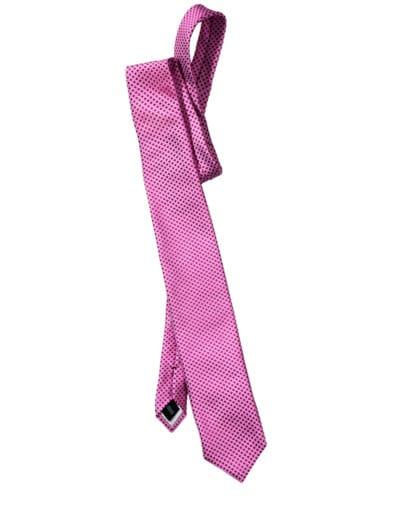 Pink-Square-Krawatte