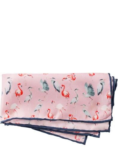 Flamingo-Einstecktuch