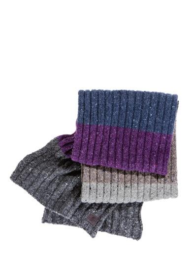 Winterfarben-Schal