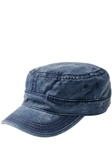 Blue Army Cap