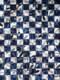Chaos-Shirt Karo blau/weiß Detail 8