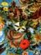 Guerilla-Gardening-Tuch royalblau Detail 3