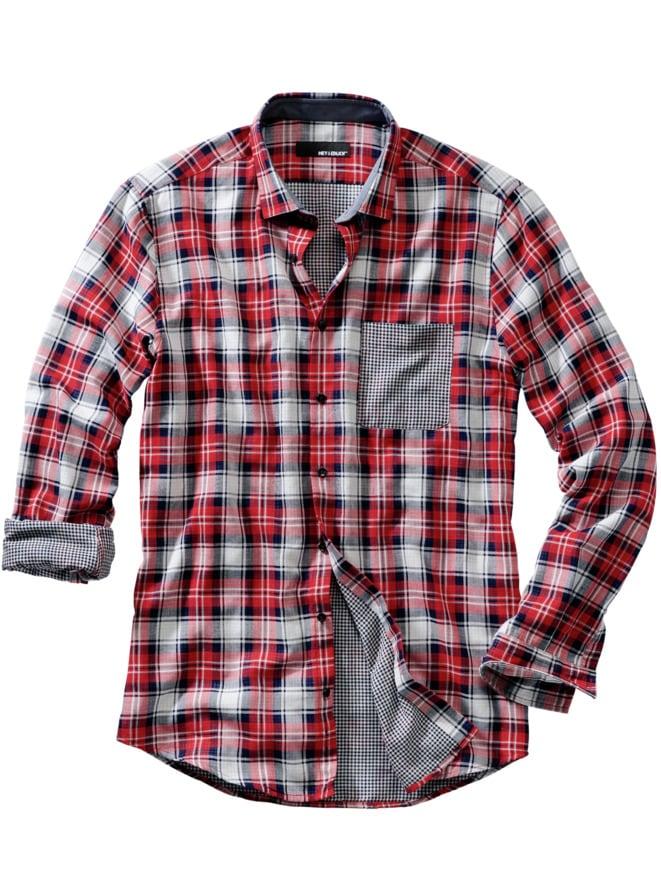 Double-Check-Hemd