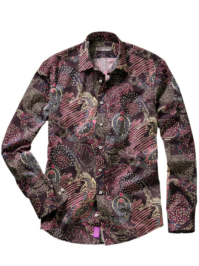 Liberty Hemd January Paisley