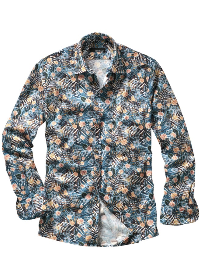 Blaue-Stunde-Hemd