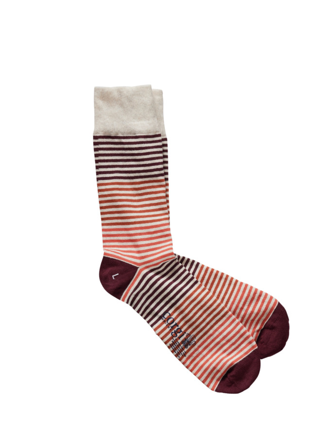 Gestreifte Socken von Corgi