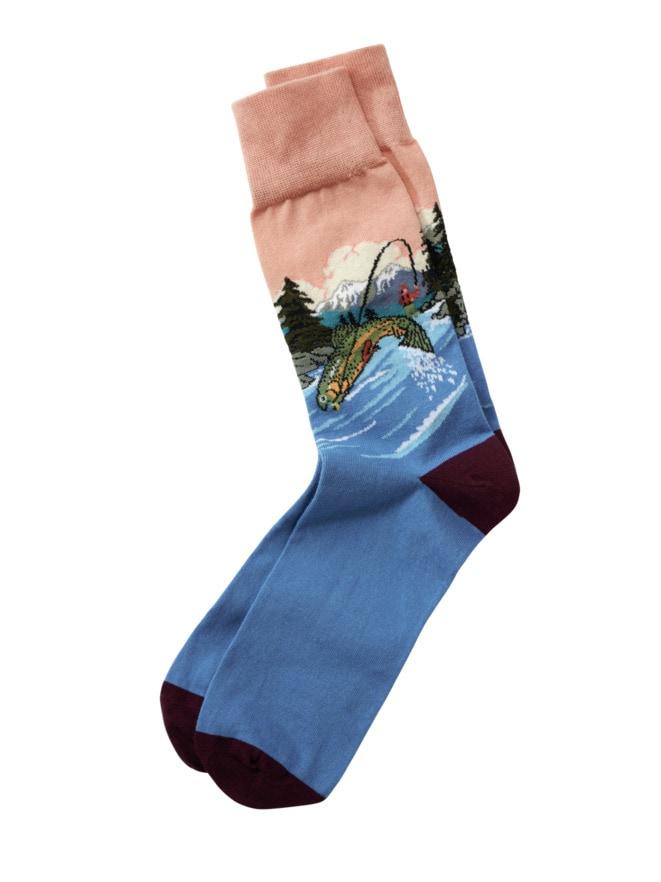 Angler-Socke