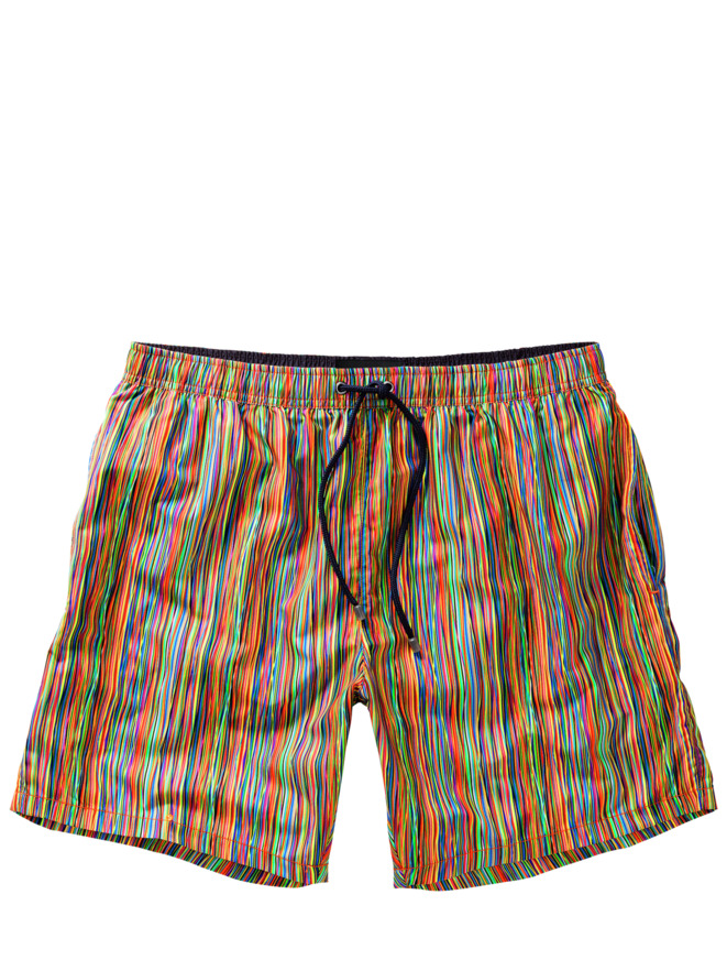 Buntstift-Badeshorts