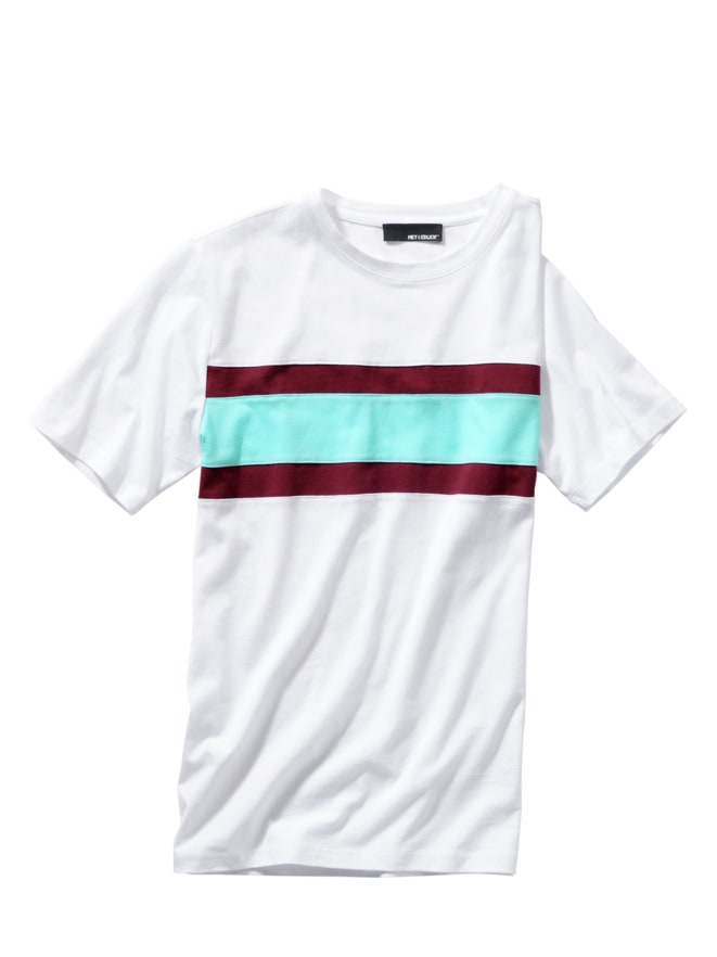 Pectoralis-Streifenshirt