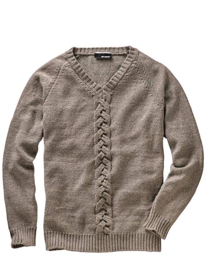 Weizen-Pullover