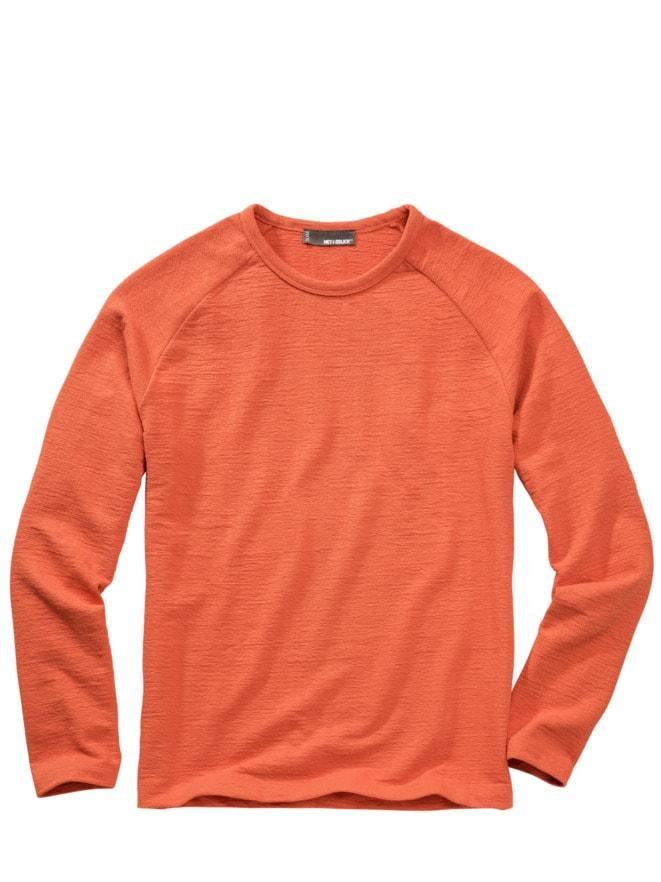 Schlaufen-Sweatshirt