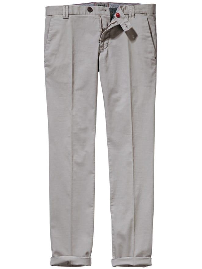 4cd07d41df01ec Chino Ciwood Grau Slim Fit von Mey & Edlich - jetzt online kaufen