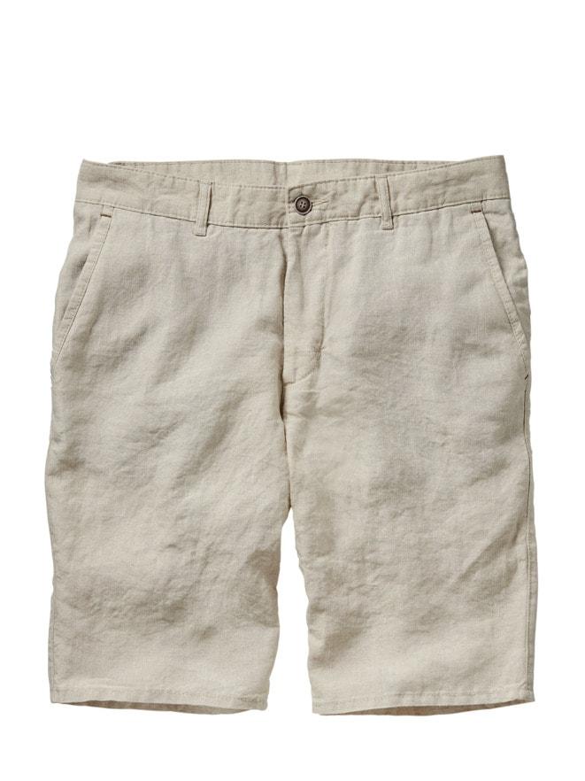 Flachs-Shorts