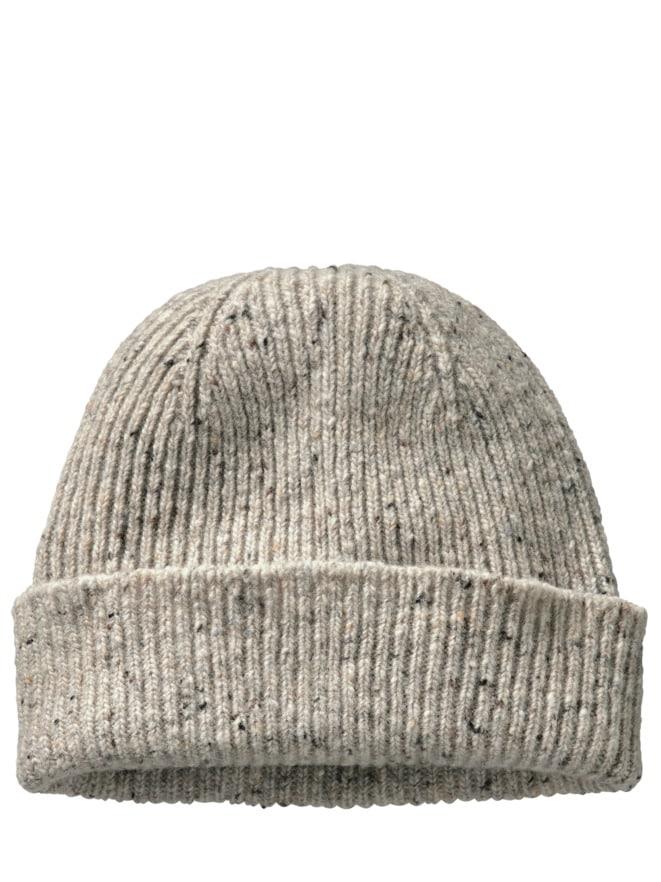 Tweed-Mütze