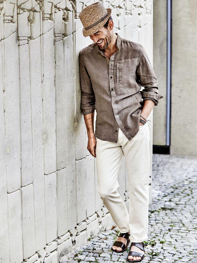 Casual Outfit Leinenshirt