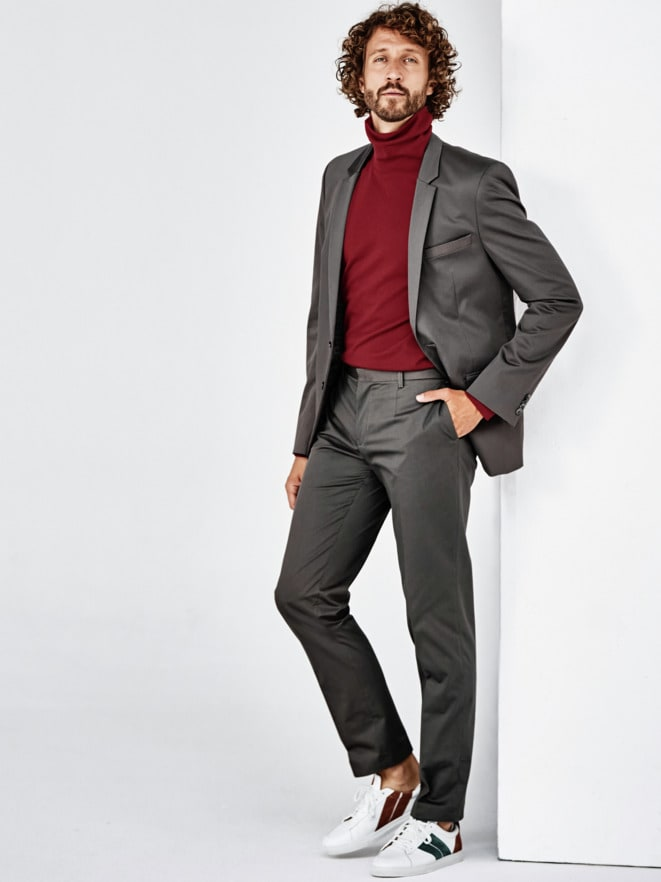 Grey Suit-Outfit